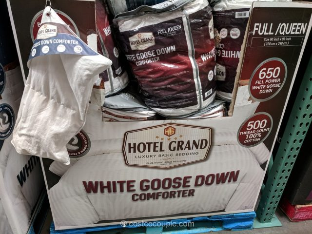 Hotel Grand White Goose Down Comforter Costco
