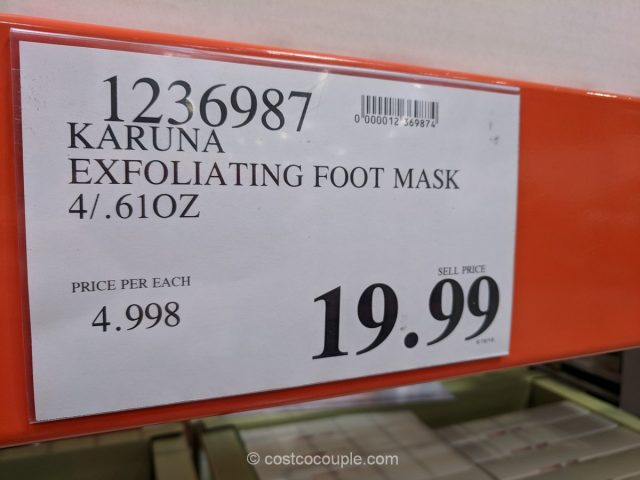 Karuna Exfoliating Foot Mask Costco