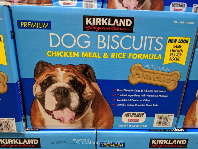 Kirkland Signature Dog Biscuits Costco