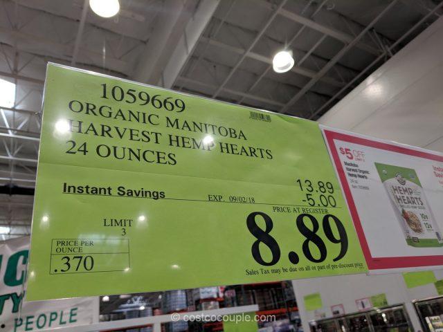 Manitoba Harvest Organic Hemp Hearts Costco