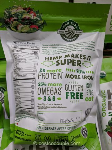 Manitoba Harvest Organic Hemp Hearts Costco