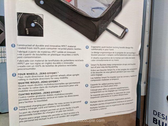 Samsonite Explore ECO 2-Piece Luggage Set Costco