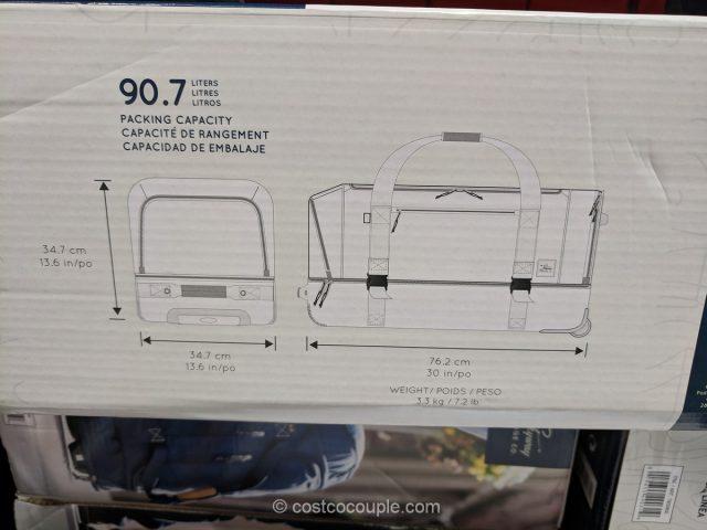 Skyway 30-Inch Rolling Duffel Costco