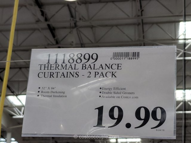Thermal Balance Curtains Costco