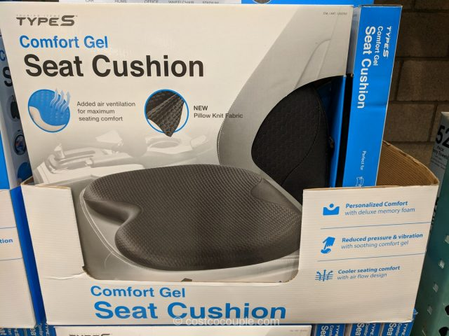 Type S Comfort Gel Seat Cushion