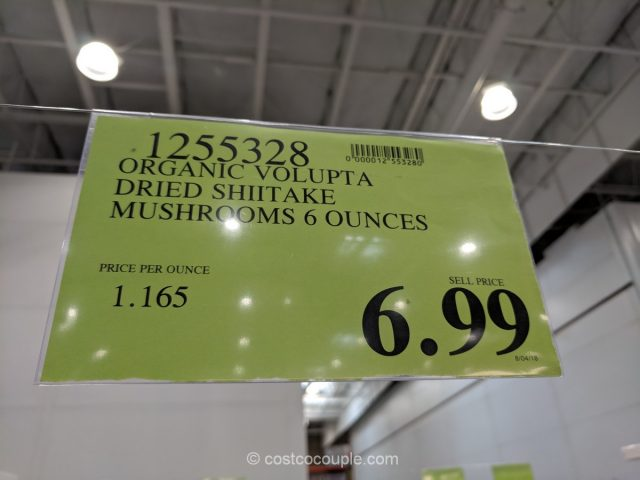 Volupta Organic Dried Shiitake Mushroom Costco