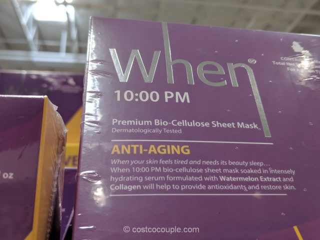 When Bio-Cellulose Sheet Mask Costco