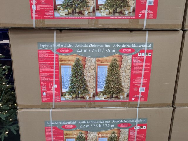 7.5 Ft Pre-Lit LED Tree Costco