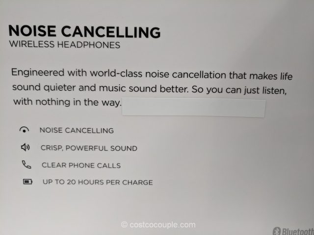Bose Wireless Noise Cancelling Headphones Costco