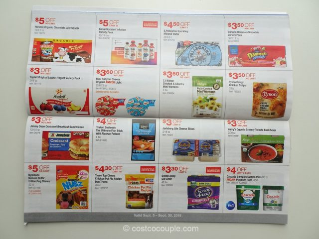 Costco August 2018 Coupon Book 09/05/18 to 09/30/18