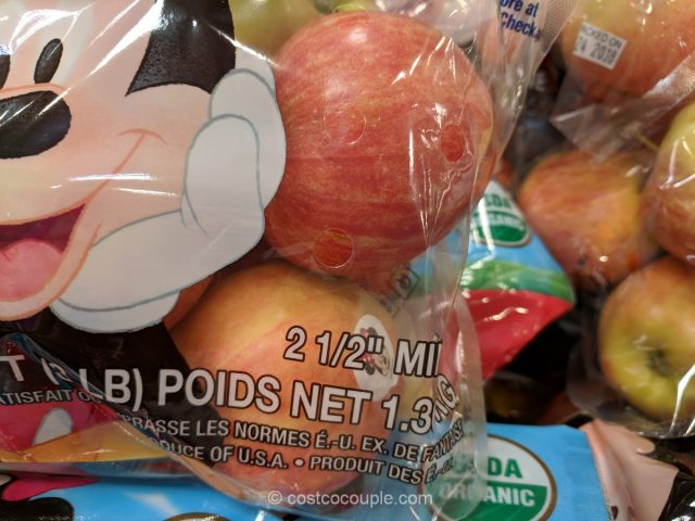 Disney Organic Gala Apples Costco