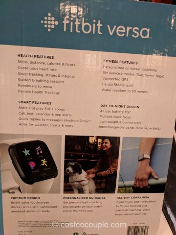 Fitbit Versa Bundle Costco