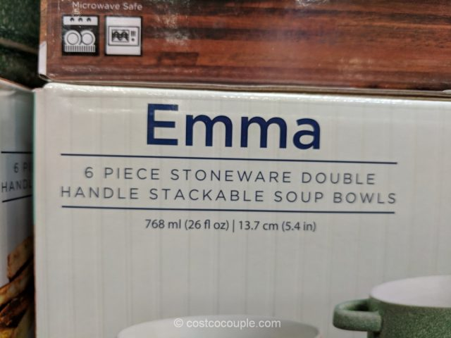 Gourmet Basics Emma Stoneware Set Costco