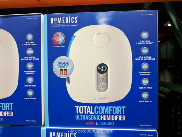 Homedics Ultrasonic Humidifier Costco