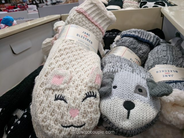 Jane and Bleecker Chunky Slipper Socks Costco