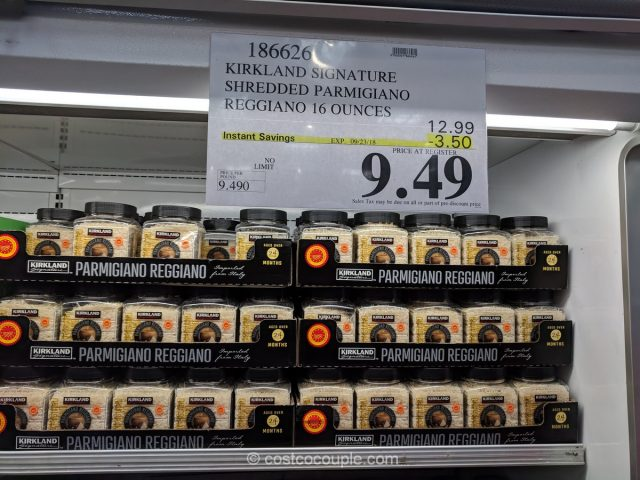 Kirkland Signature Shredded Parmigiano Reggiano Costco