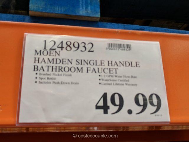 Moen Hamden Single Handle Bathroom Faucet Costco
