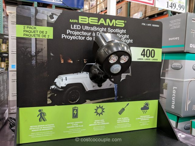 Mr Beams LED UltraBright Spotlight Costco