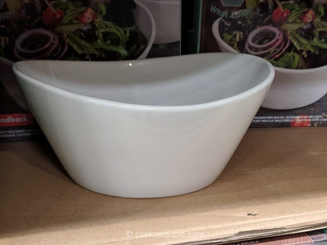 Over and Back Porcelain Bowl Set Costco
