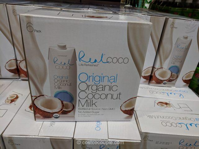 Real Coco Organic Coconut Milk Costco