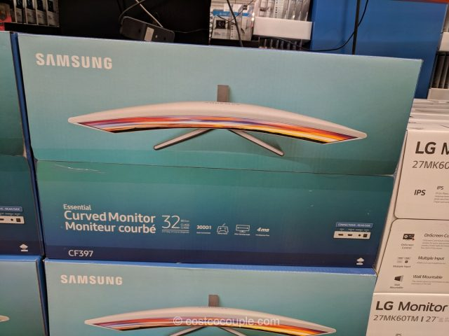Samsung 32-Inch Curved Monitor CF397 Costco