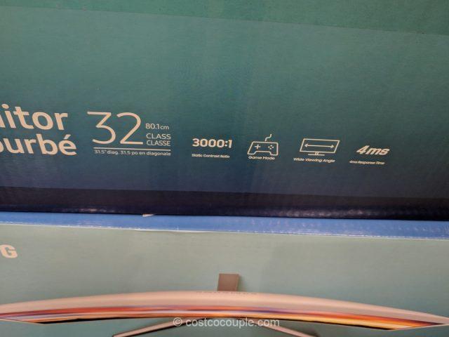 Samsung 32-Inch Curved Monitor CF397 Costco