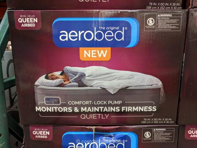 Aerobed Comfortlock Queen Airbed Costco