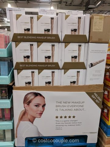 BlendSmart Rotating Makeup Brush System Costco