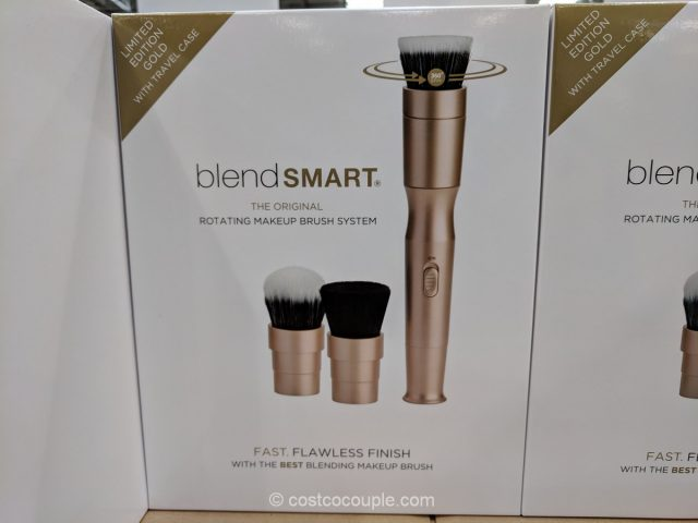 BlendSmart Rotating Makeup Brush System Costco