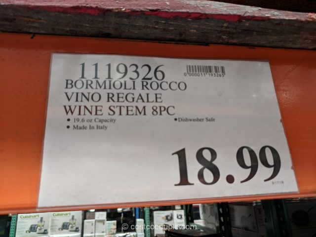 Bormioli Rocco Vino Regale Wine Glasses Costco
