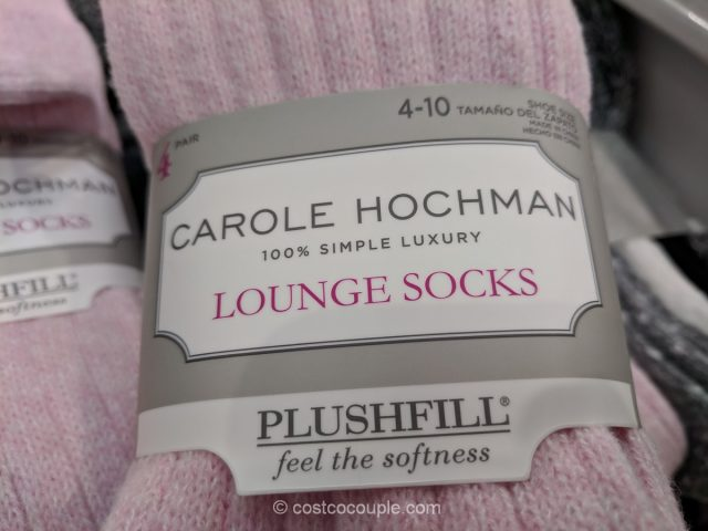 Carole Hochman Ladies Lounge Socks Costco