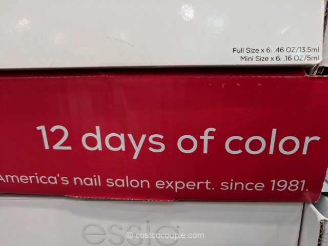 Essie 12 Days of Color Set Costco