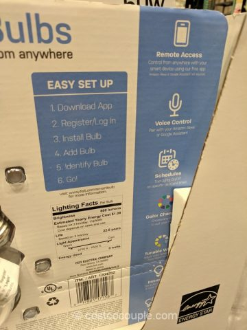 Feit Electric LED Smart Bulb Costco