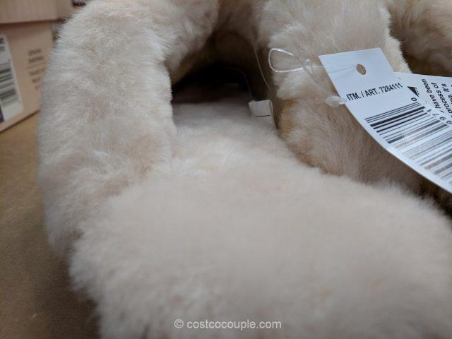 Kirkland Signature Ladies Indoor Outdoor Shearling Slipper Costco