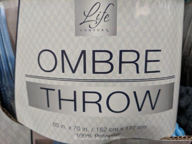 Life Comfort Ombre Throw Costco