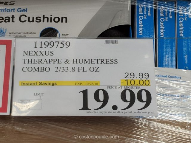 Nexxus Therappe Shampoo and Humectress Conditioner Set Costco