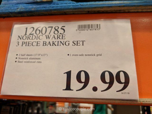 NordicWare Non-Stick Baking Sheet Set Costco