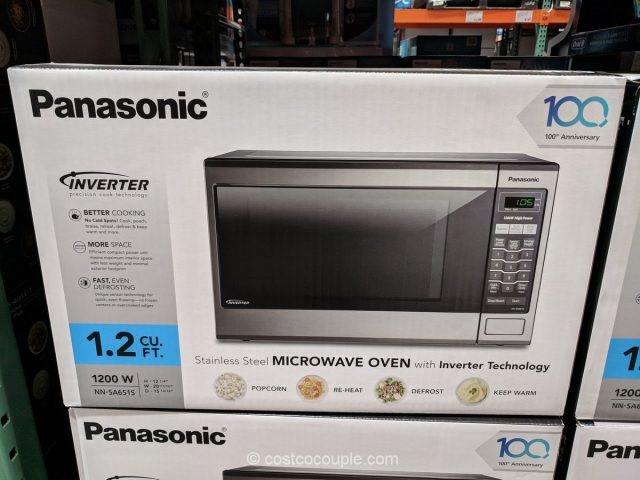Panasonic Microwave Oven with Inverter Technology Costco