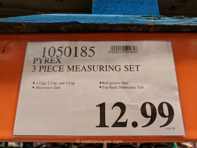 Pyrex Measuring Set Costco