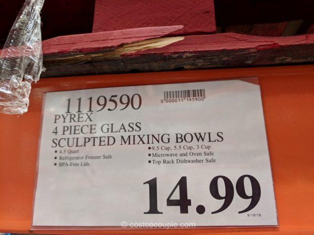 Pyrex Mixing Bowl Set Costco