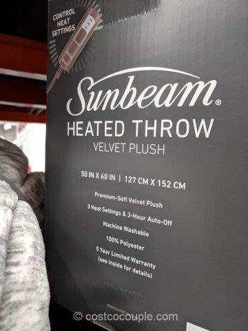 Sunbeam Heated Throw Costco