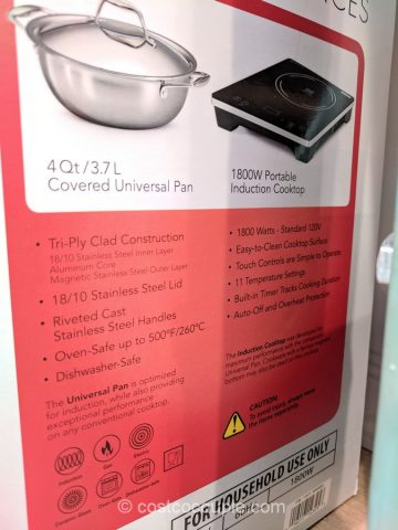 Tramontina 3-Piece Induction Cooking Set Costco