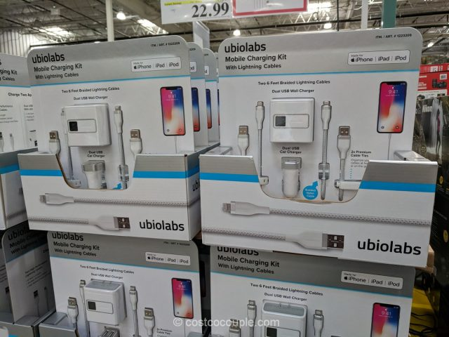 Ubio Labs Mobile Charging Kit Costco