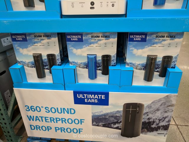 Ultimate Ears Boom Remix Portable Bluetooth Speaker Costco