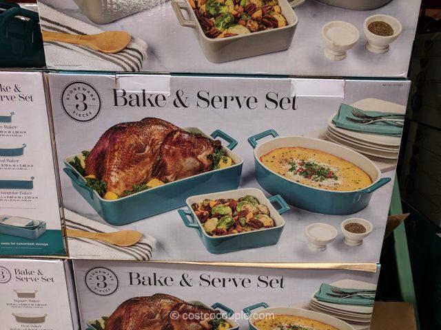 Bake and Serve Stoneware Set Costco