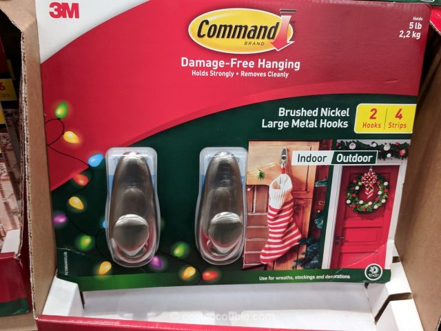 Command Holiday Hanging Clips or Hooks Costco