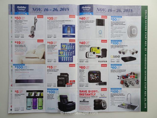 Costco 2018 Holiday Savings