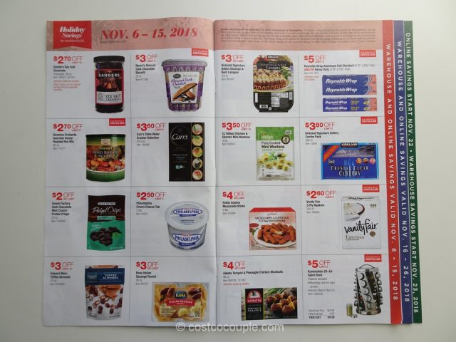 Costco 2018 Holiday Savings 1