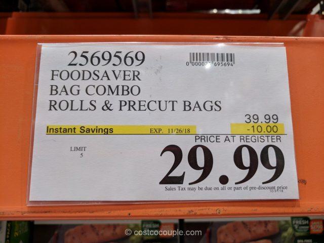 FoodSaver Bag Combo Costco