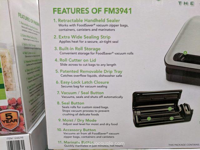 FoodSaver Vacuum Sealing System Costco